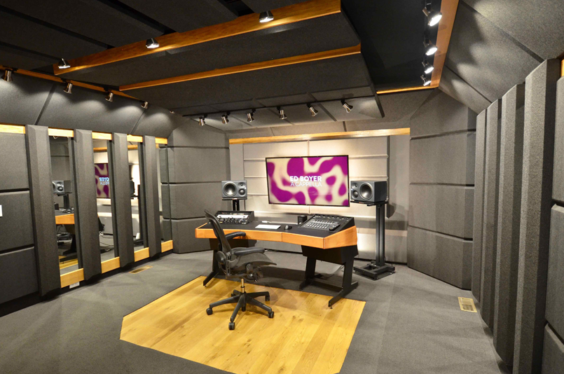 Custom Designed Studio: Boyer A Cappella