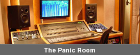 Custom designed studios for Custom panic room