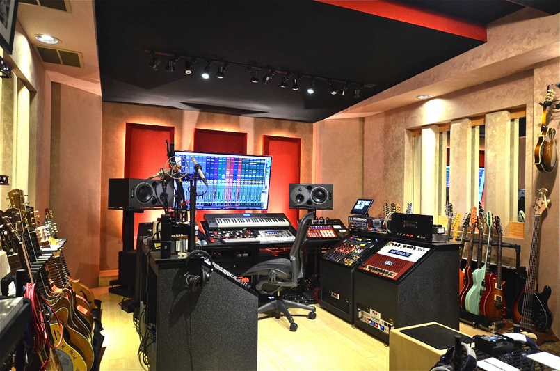 Custom Designed Studio: Willisoundz II