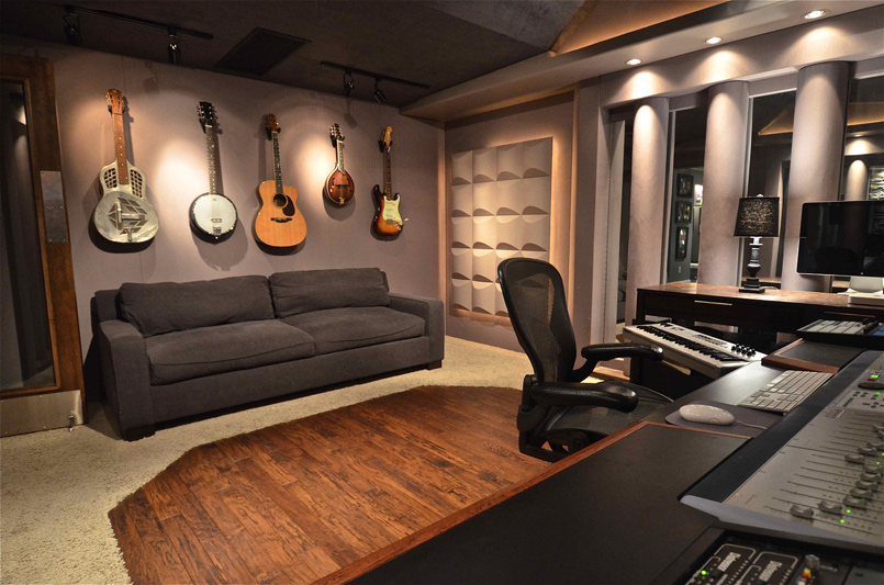 custom designed studio red decibel east