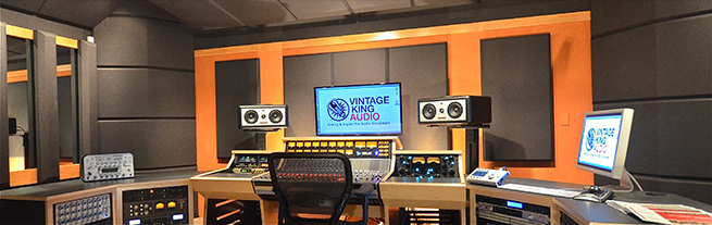 Custom Designed Studio: Vintage King Nashville