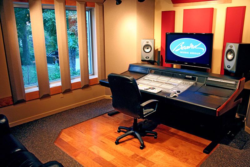Custom designed studio beaird music group for Music recording studio layout