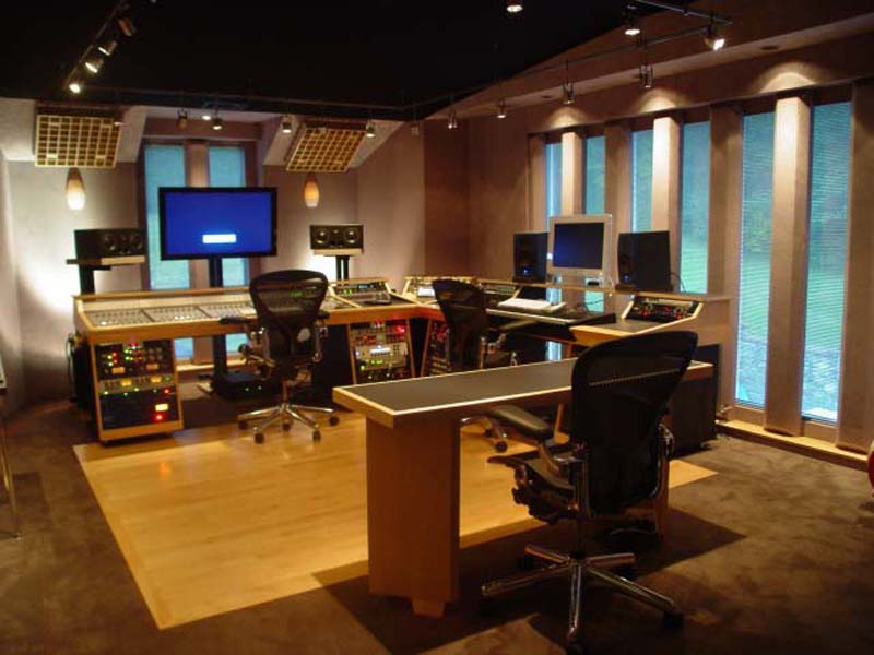 Home Recording Studio Wallpaper Images