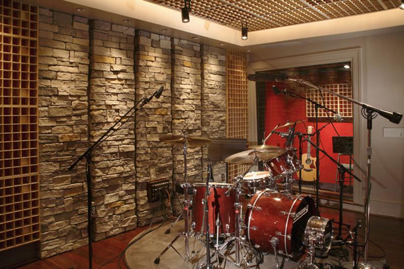 Custom designed studio the grip ii for Music studio design