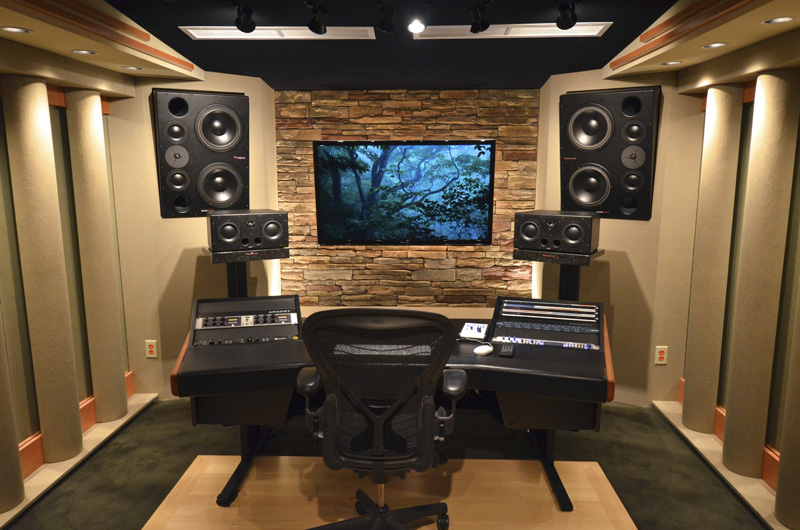 Custom Designed Studio The Blue Grotto
