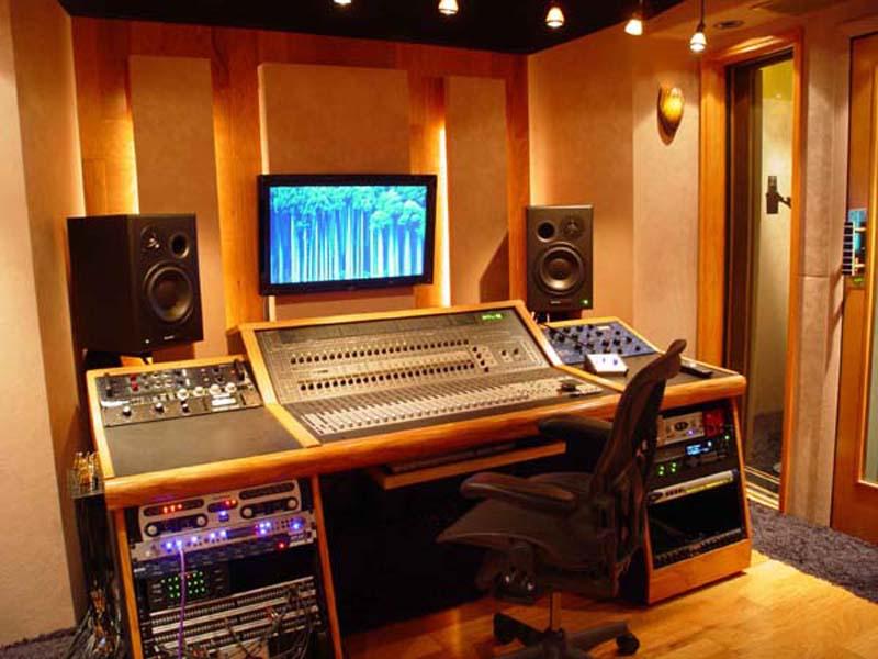 Custom Designed Studio Panic Room