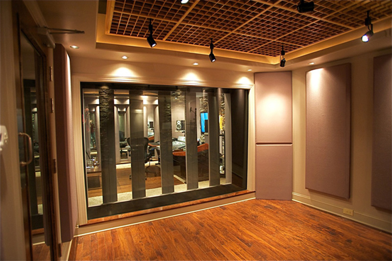 custom designed studio red decibel east